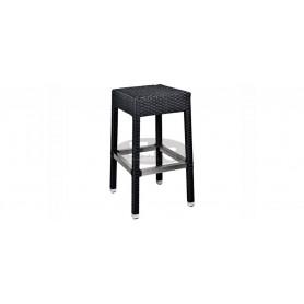Casale low barstool, color: black