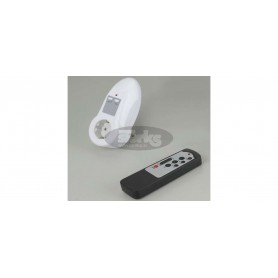 Single wireless remote control switch