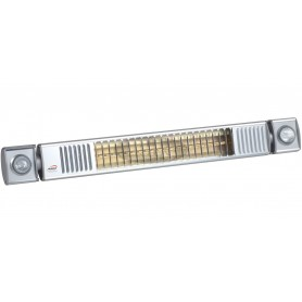 TERM 2000 IP65 L&H infrared heater with lights, 82 cm