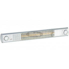 TERM 2000 IP65 L&H FIX infrared heater with lights, 78 cm