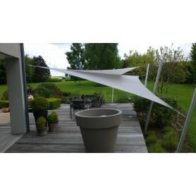 Ingenua Triangle sail 90°, 4 x 5 x 6,4 m, Premium