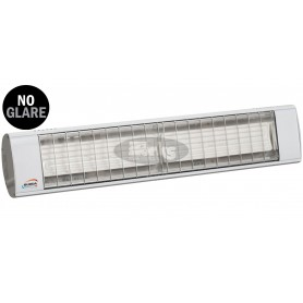 TERM 2000 No Glare IP20 infrared heater, 2x 650W