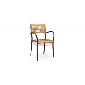 Ancona Circle Wicker armchair