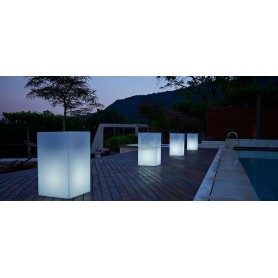 CUBE SQUARE light pot