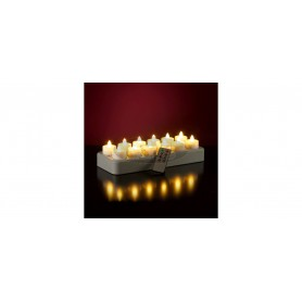 Rechargeable battery flicker candles SET