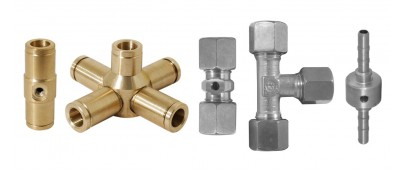FITTINGS AND NOZZLE HOLDERS